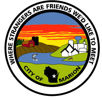 Marion Wisconsin Map.City Of Marion Wisconsin